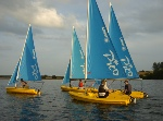 Junior fleet in action