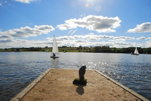 A beautful day for sailing at Chelmarsh